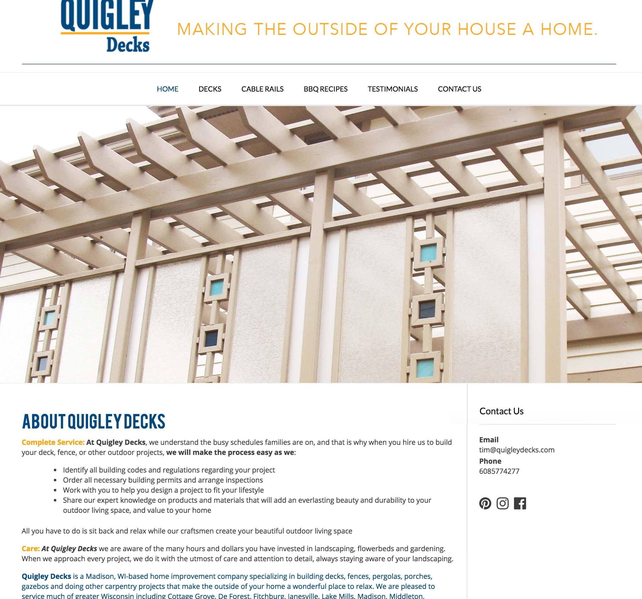 QuigleyDecks.com