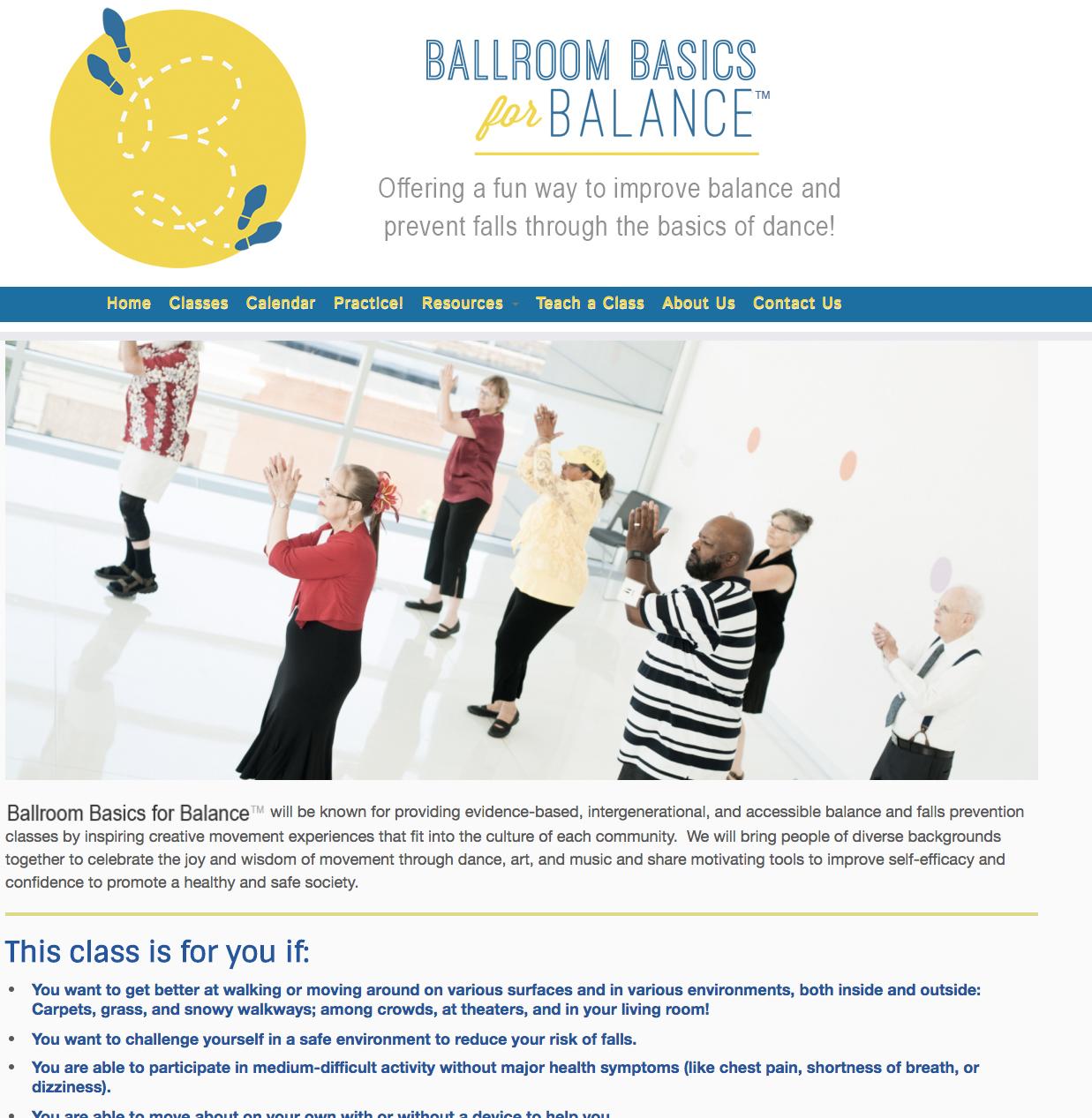 BallroomBasicsForBalance.org